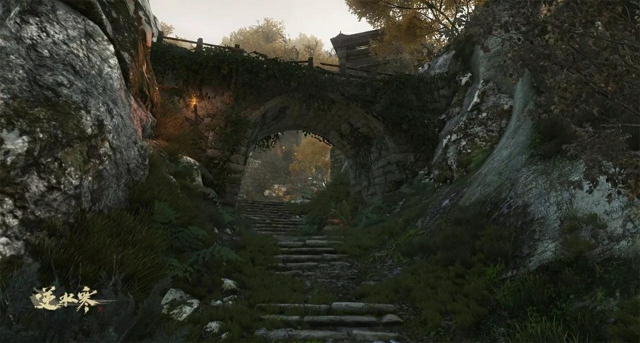 诗人看江山风景画