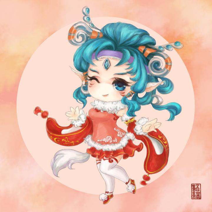 【同人组出品】锦年の媚灵狐 BY依べ煙語諾