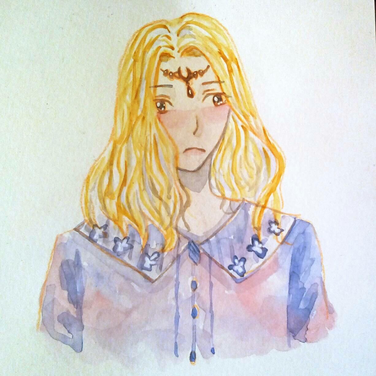 【大触团】画个圣女小姐姐做头像