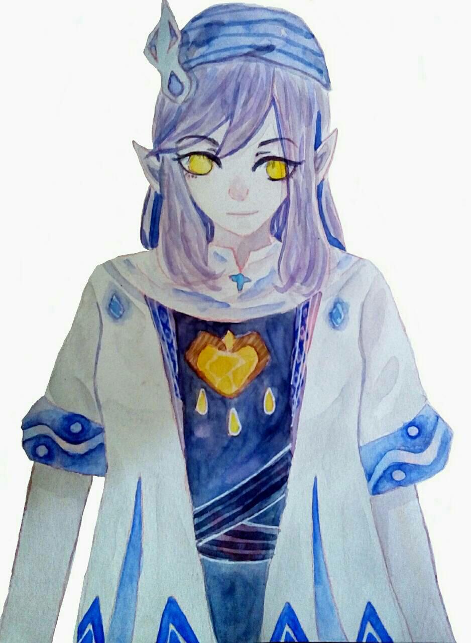 【大触团】紫头发黄眼睛,你们喜欢吗