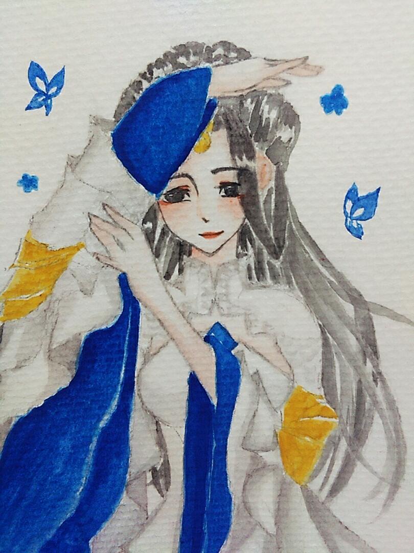 【江湖笔墨客】 手绘云梦小姐姐一只