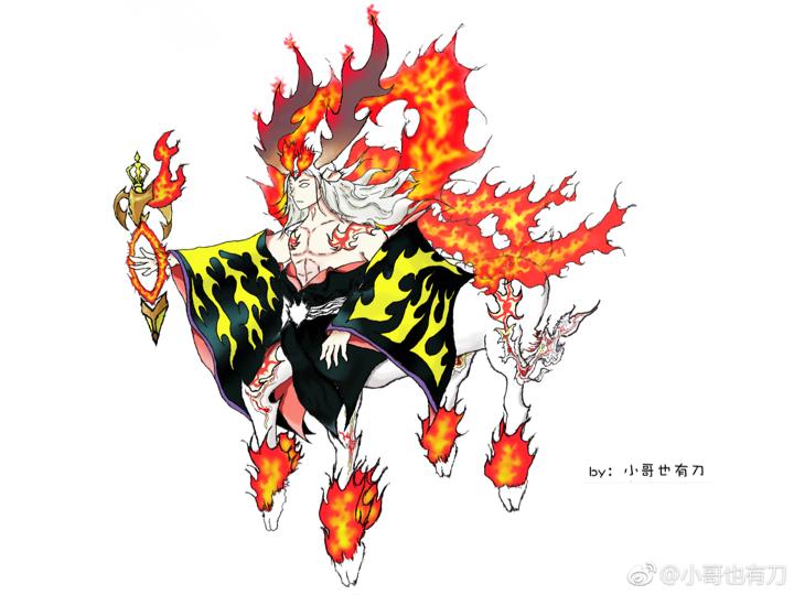 #百绘罗衣投稿#【小鹿男——怒森之火】