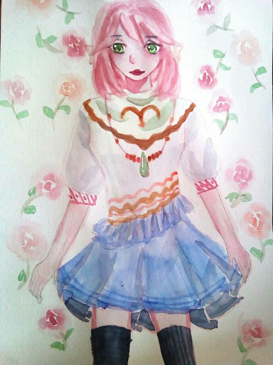 【大触团】平民小姐姐穿裙子