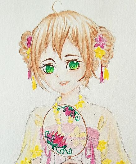 【江湖笔墨客】为小师妹画的小裙裙