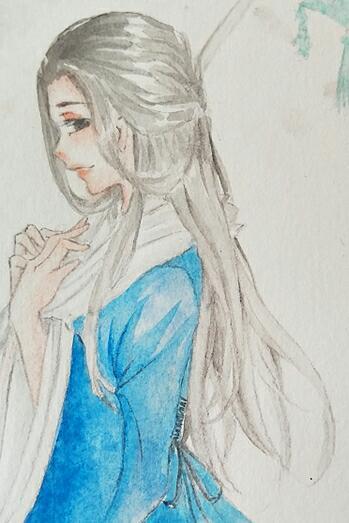 【江湖笔墨客】为云梦小姐姐的画的裙子