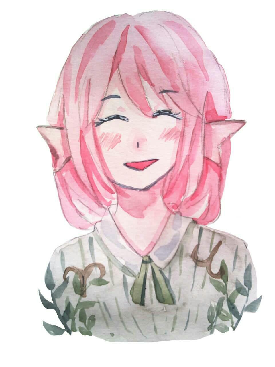 【大触团】喜欢粉头发怎么了