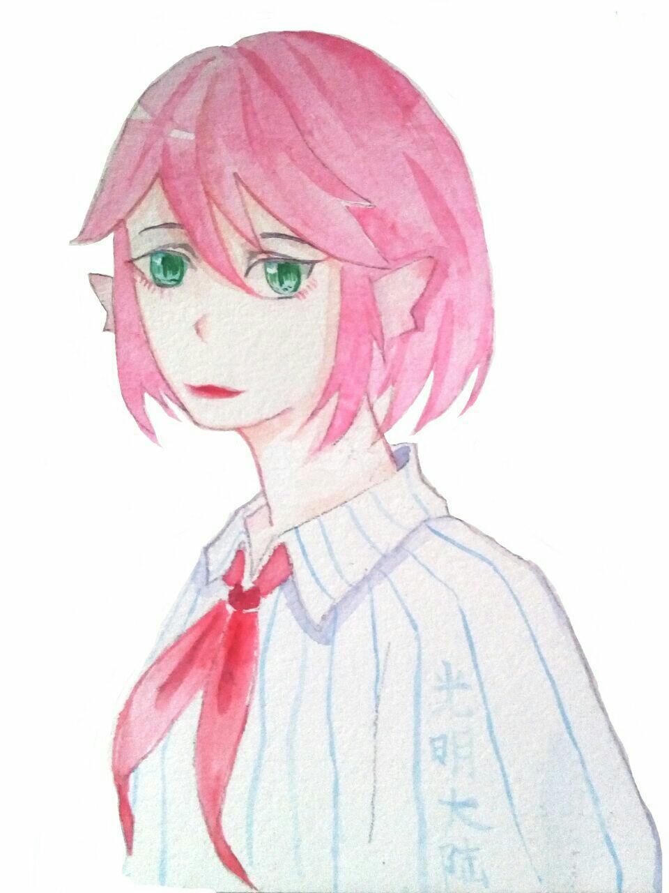 【大触团】伤心的粉头发小姐姐