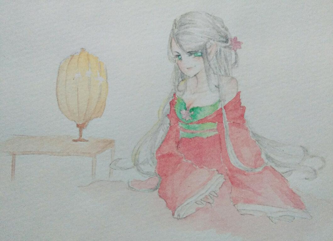 【大触团】为精灵小姐姐画的古装