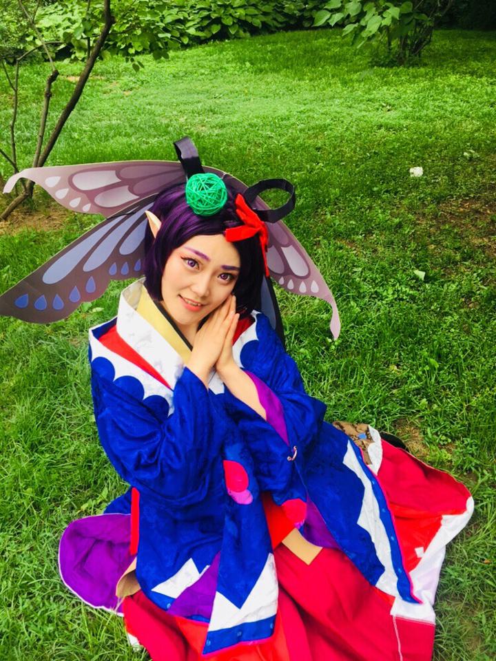 我蝴蝶精可是将来要当舞蹈家的