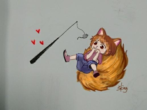 【制图组出品】【三金】偷偷撸猫,呸,撸狐小妖一只