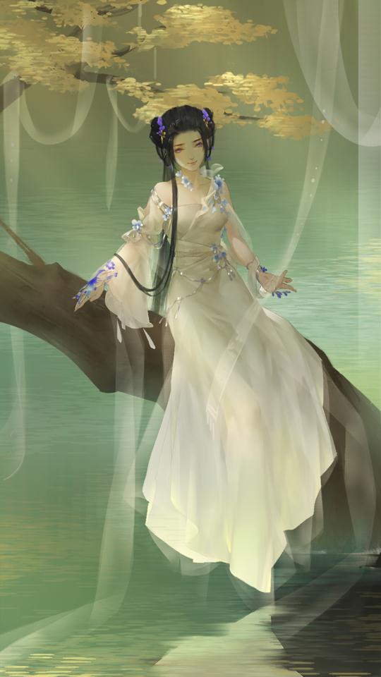 【自在门手绘】新鲜的素问小姐姐你爱么~属于你的专属同人 走过路过不要错过