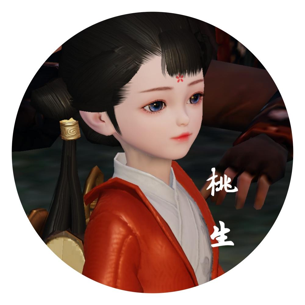 【捏脸名侠】桃生——步步生莲