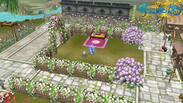 10级家园装修(我的秘密小花园)图片
