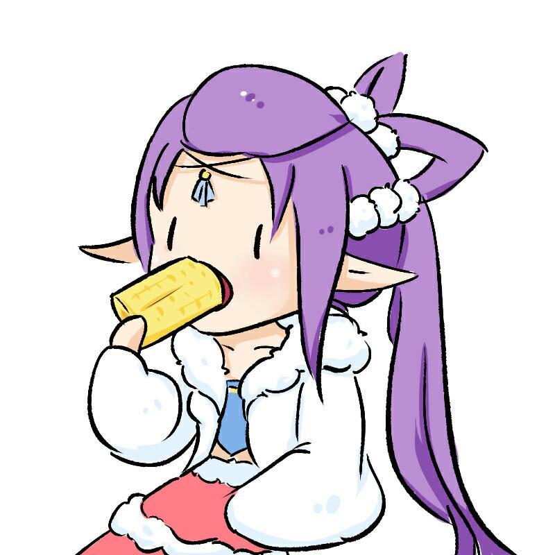 【制图组出品】【吃货情头-吃玉米的狐美人】