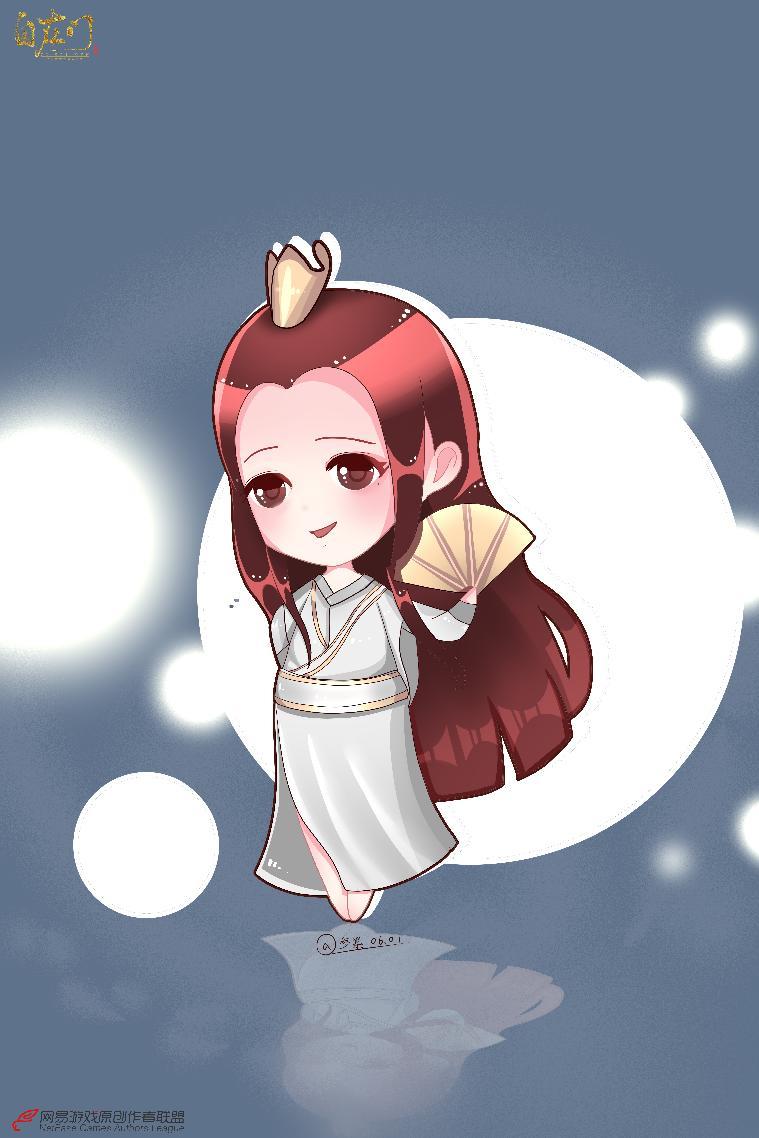 【原创作者联盟】侠风凌云q版,今天也是快意江湖的小姐姐!【自在门】【手绘】