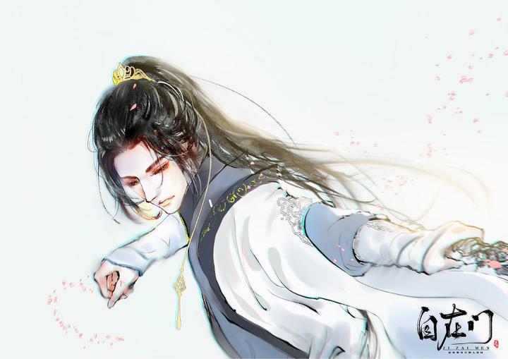 师兄是个带皇冠的小公举【自在门】【手绘】
