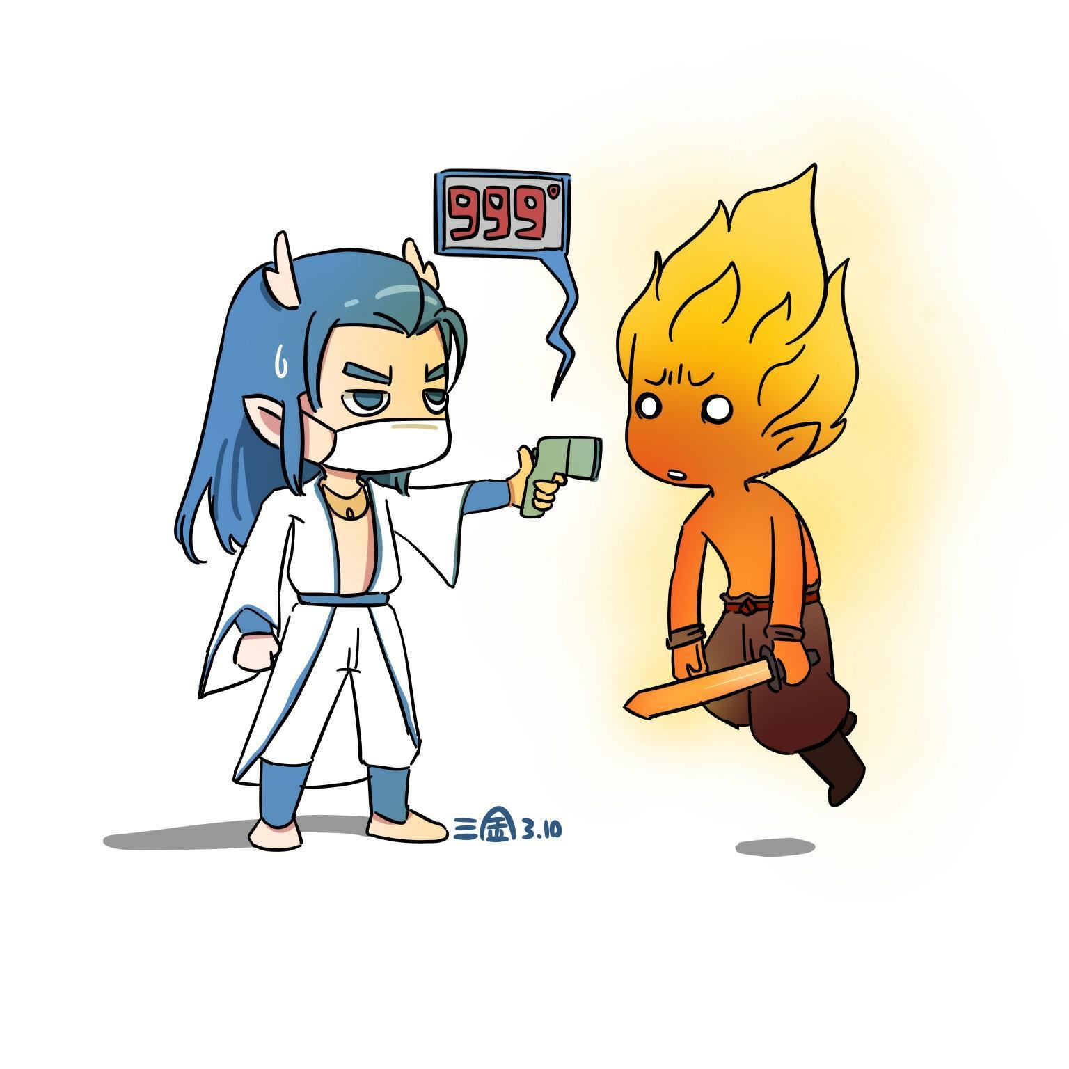 【制图组出品】【三金】惊!龙战将竟对赤焰妖做出这种事!