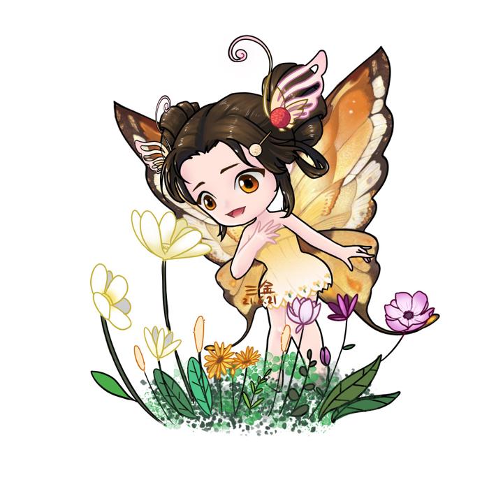 【制图组出品】【三金】蝴蝶蝴蝶你生的真美丽~